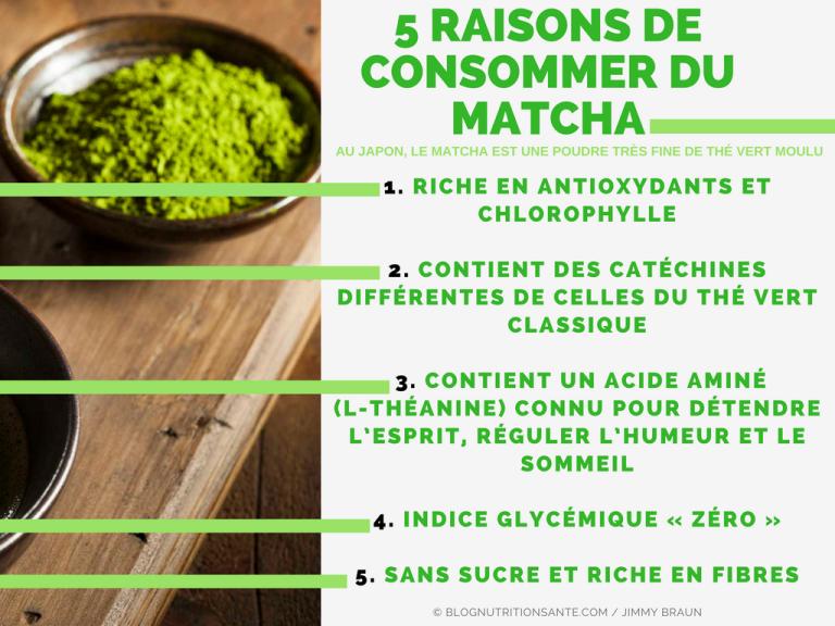 5 bienfaits du thé vert matcha