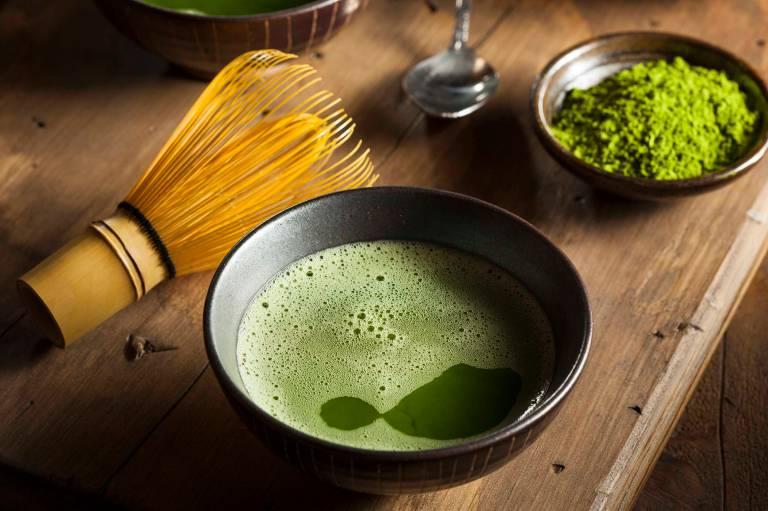 Matcha : la mode du thé vert en poudre