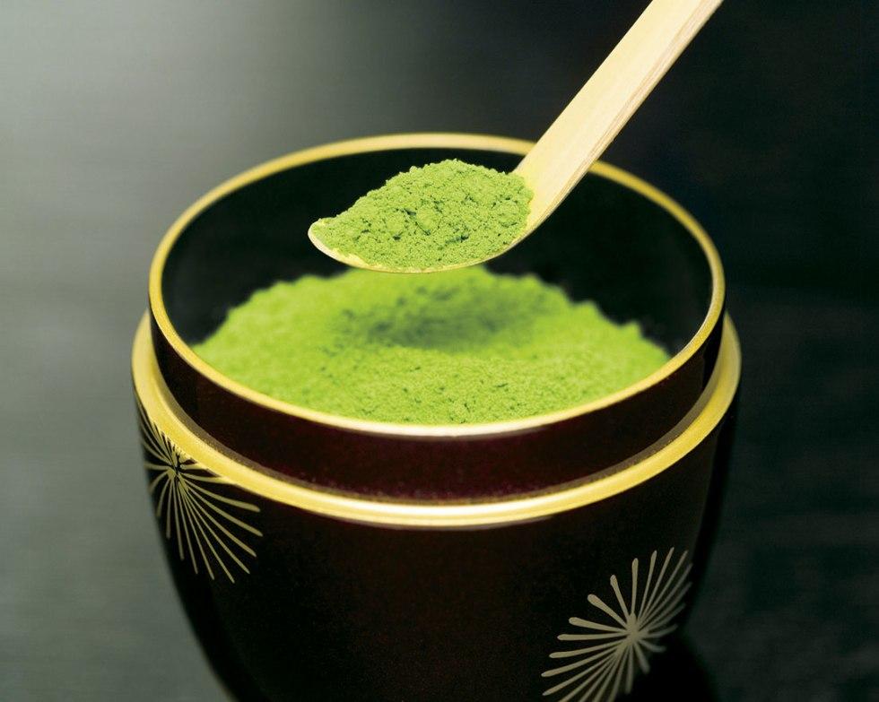 Pourdre de thé vert matcha
