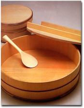 Hangiri : bol en bois