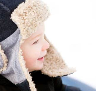 Enfants : Attention au froid d'hiver !