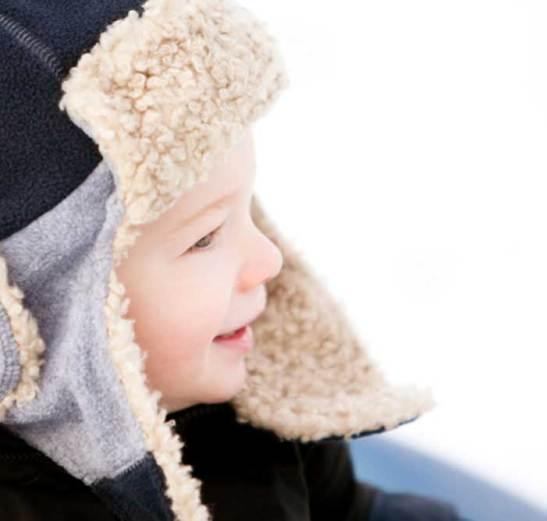 Enfants : Attention au froid d'hiver !