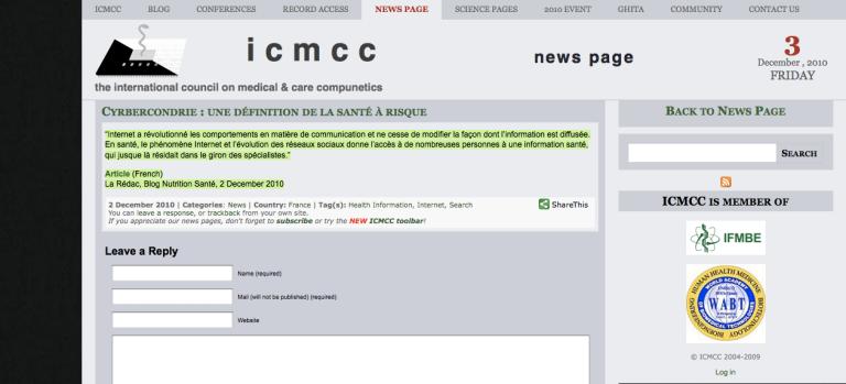 ICMCC blog nutrition santé