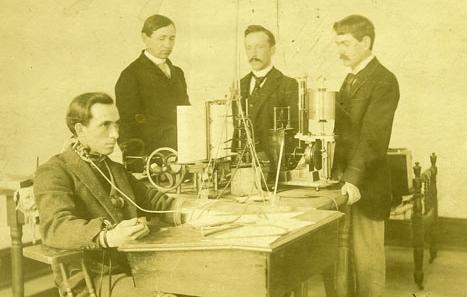 Un vieux laboratoire