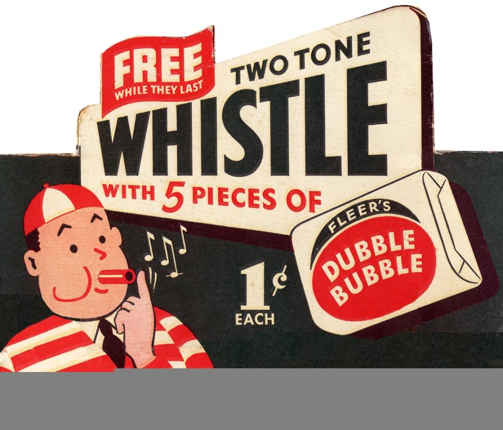 Double bubble-gum