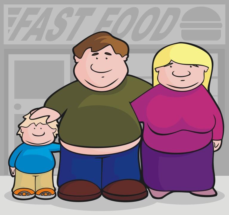 Obésité et sédentarité des familles