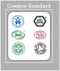 Label bio pour les cosmétiques : Cosmos-standard
