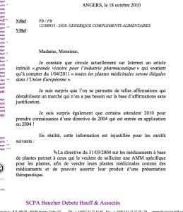 La pétition sur la défense des médecines naturelles : fausse pétition