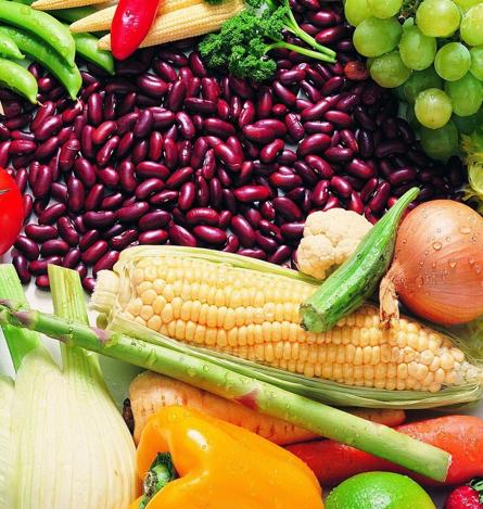 vitamines : legumes et fruits