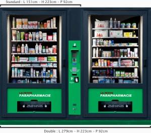 Distributeur de parapharmacie