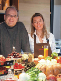 Professeur David Khayat et Caroline Rostang