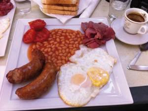 Brunch ou Breakfast : petit déjeuner anglais