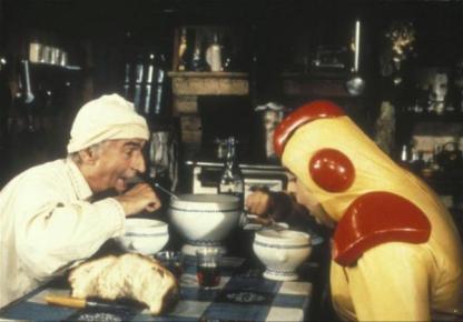 La soupe aux choux (1981) : film avec Louis de Funès, Jean Carmet et Jacques Villeret
