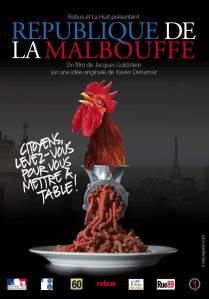 La République de la Malbouffe : affiche du film