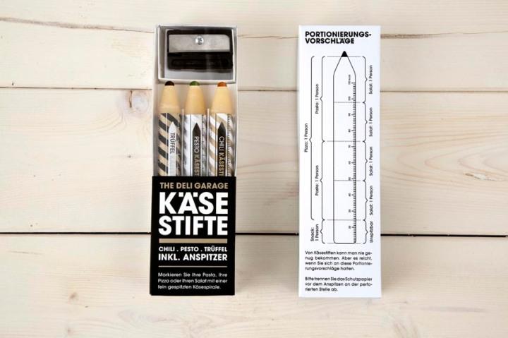 Crayon de parmesan pour décorer ses salades et pâtes