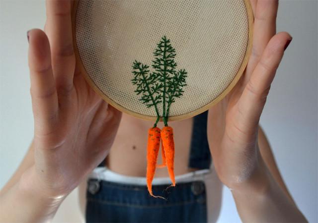 Coup de crochet dans les légumes de Grand-Mère