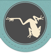 NakedFrog Logo foodtruck