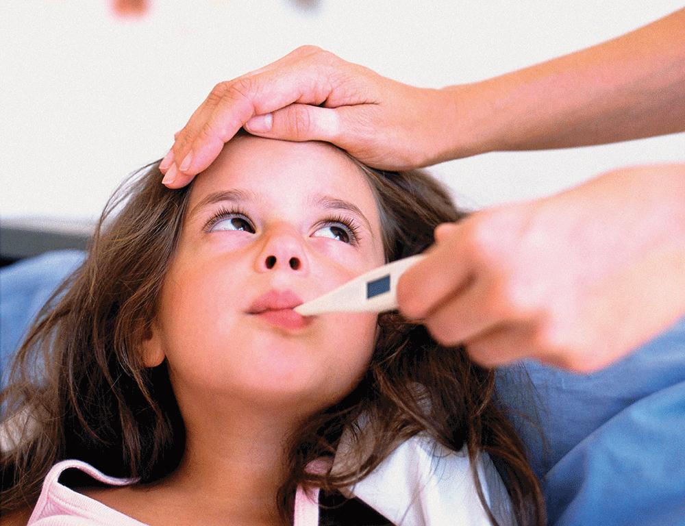 Rhume et risque d'ischémie cérébrale chez les enfants