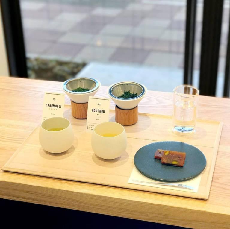Dégustation thé vert bio du Japon