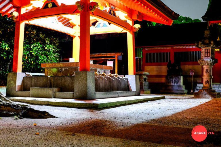 Temple japonais Fukuoka