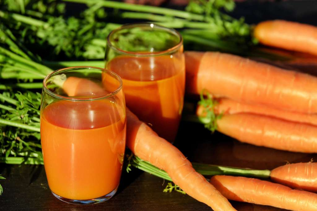 Vitamine A : le jus de carottes