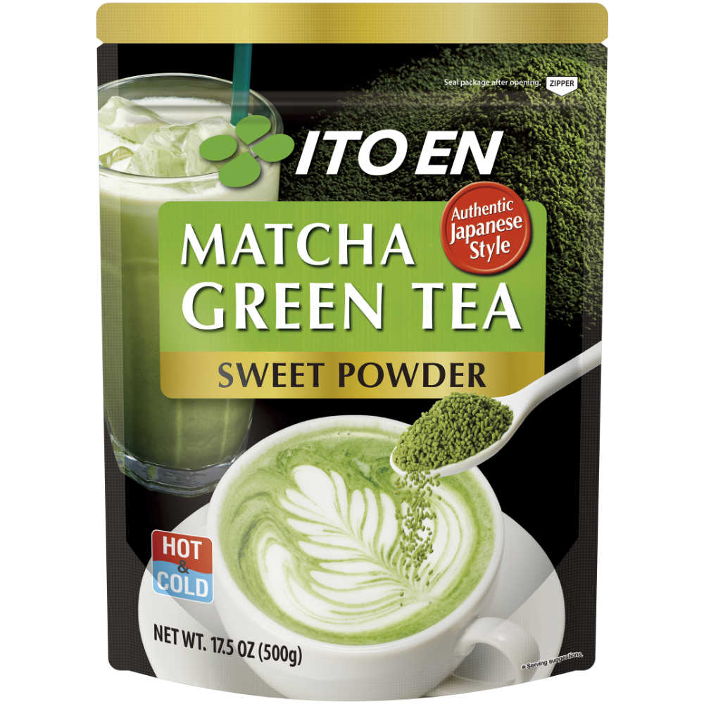 MATCHA GREEN SWEETENED GREEN TEA POWDER
