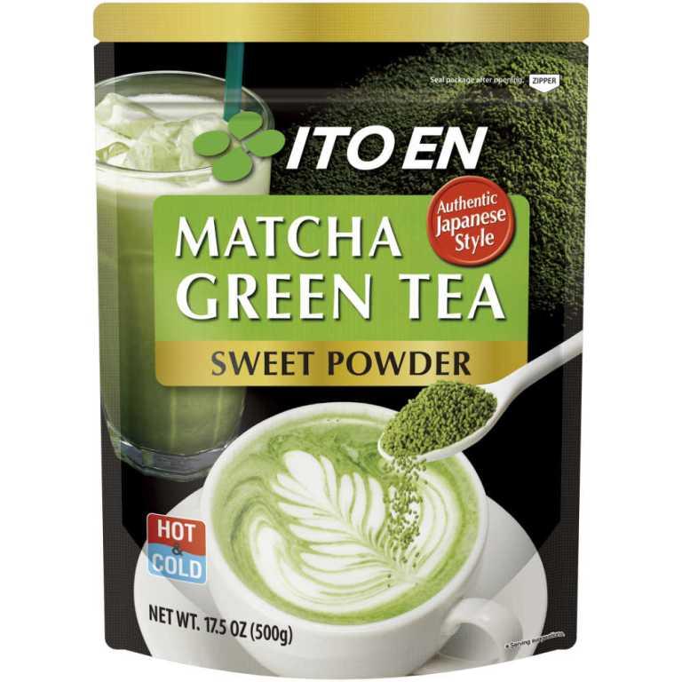 MATCHA GREEN SWEETENED GREEN TEA POWDER