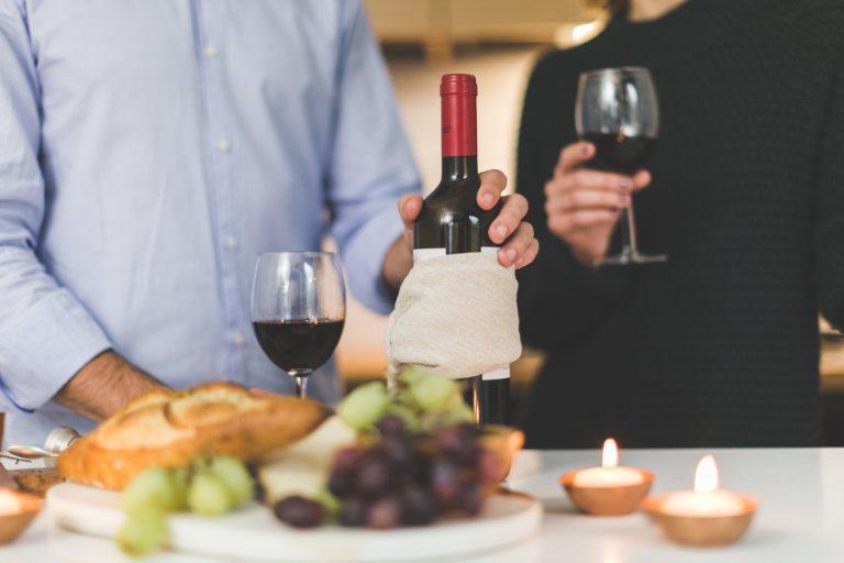 Vin rouge et alimentation saine