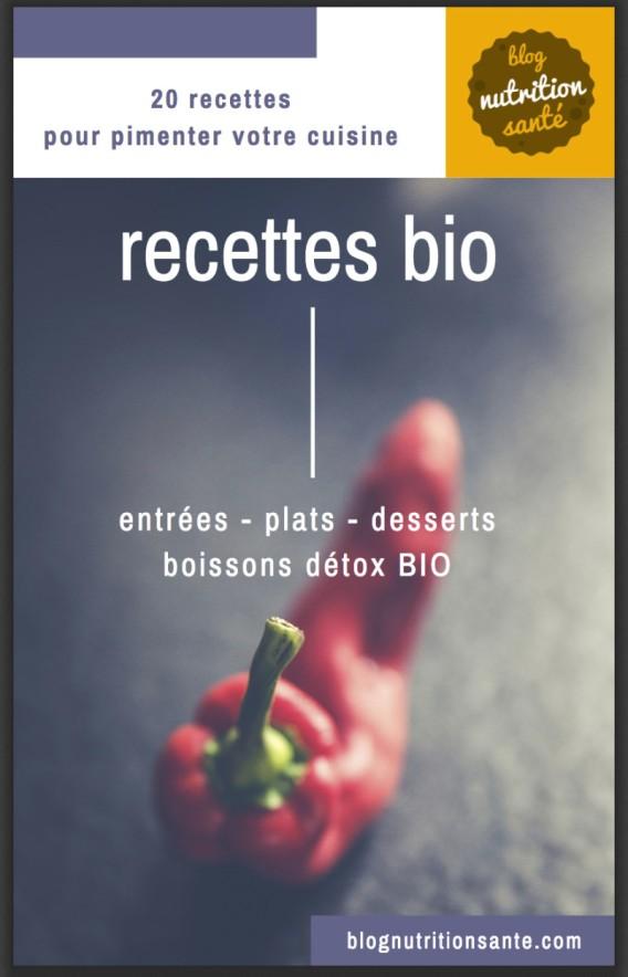 20 recettes de cuisine bio