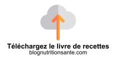 Livre recettes de cuisine bio