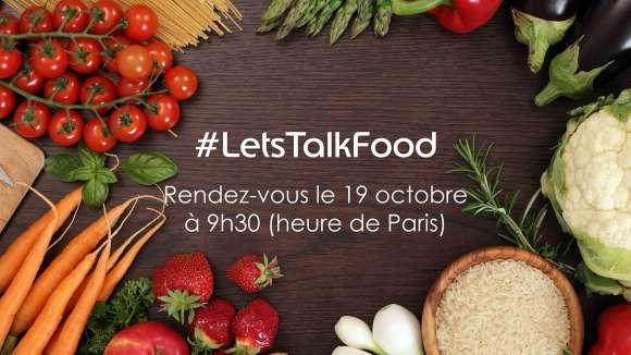 #LetsTalkFood : échange interactif sur les habitudes alimentaires au travail