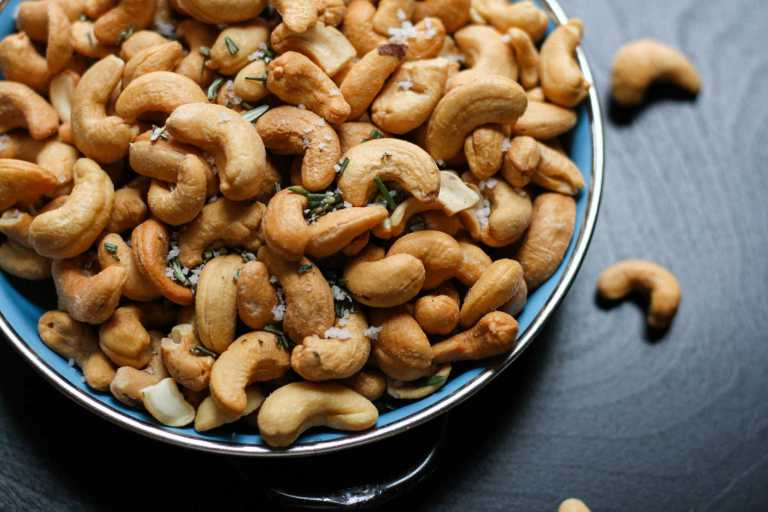 Eating a regular variety of nuts is associated with a lower risk of heart disease