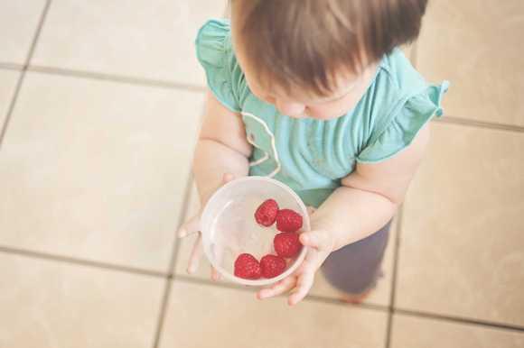 Le bonheur des enfants est dans leur assiette