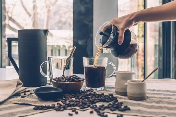 L'apport en café est généralement bon pour la santé