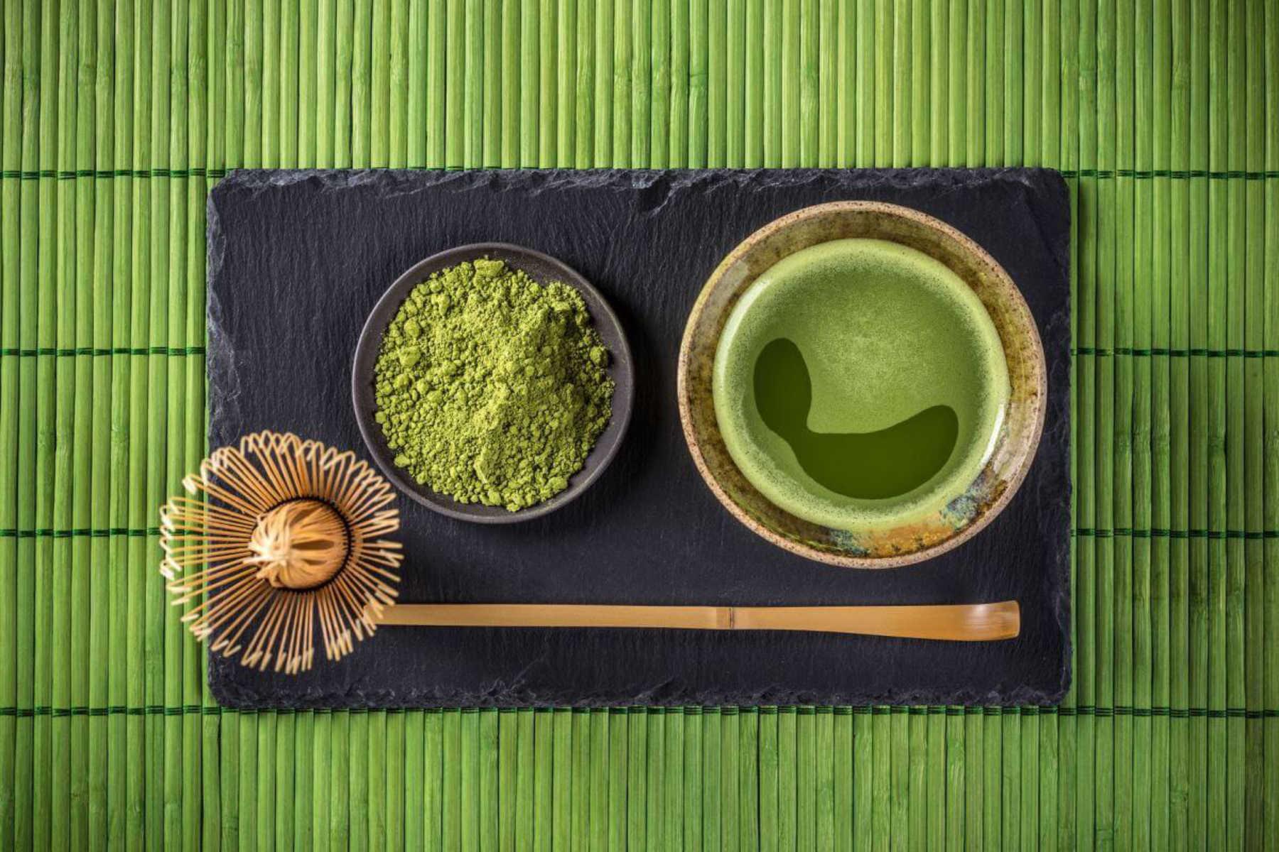 Le thé vert matcha améliore l'oxydation des graisses particulièrement chez les femmes