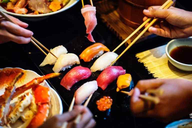 Consommation plus élevée de poisson gras et de légumineuses fraîches