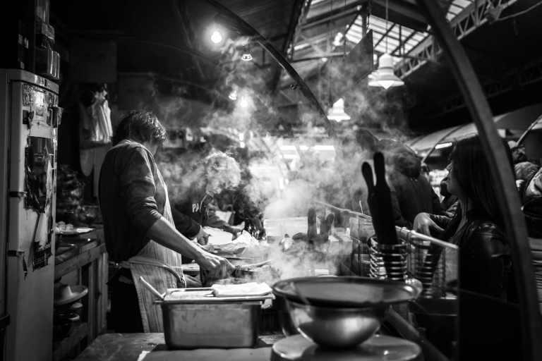 L'absorption cutanée et fumées de barbecue