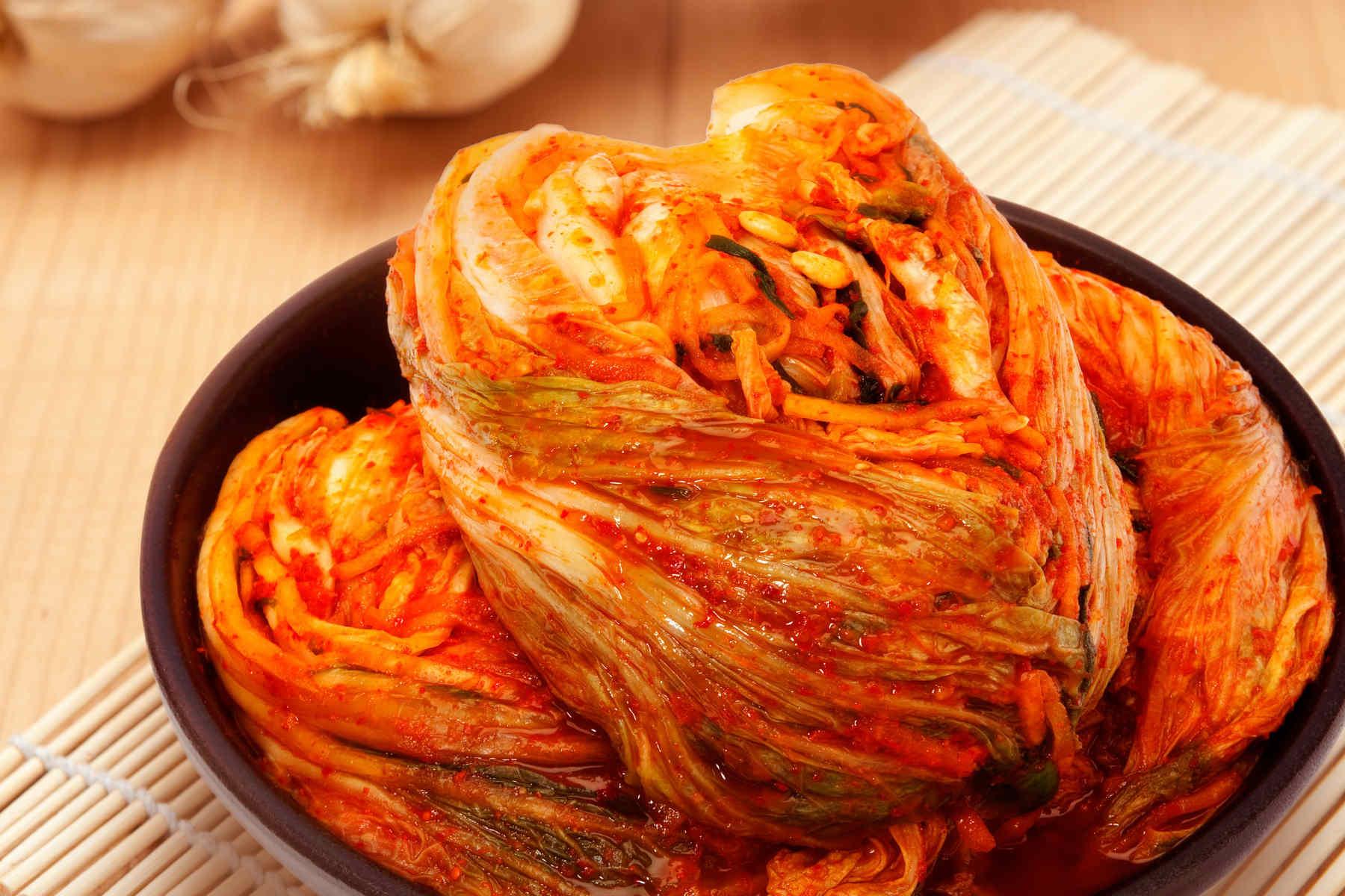Le kimchi fabriqué sans produits de la mer a la même bactérie probiotique que le kimchi traditionnel.