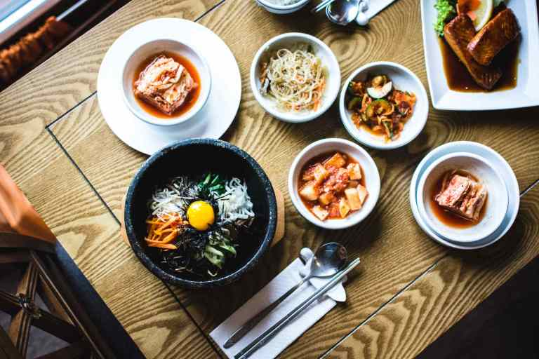 Plats traditionnels de Corée