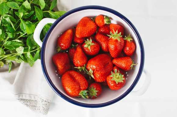 Les fraises diminuent l'inflammation