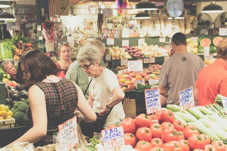 Le pouvoir de l'emplacement du rayon fruits et légumes