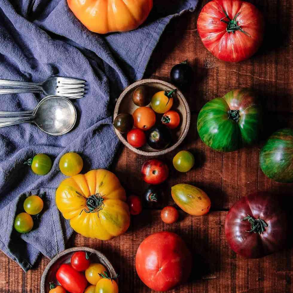 La couleur des tomates révèle les niveaux d'antioxydants spécifiques