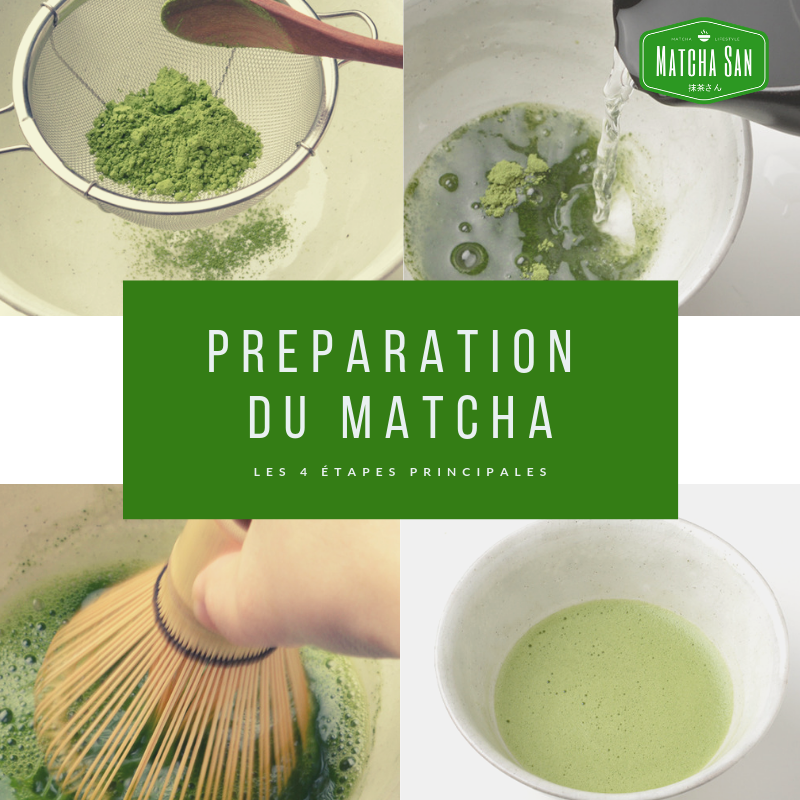 Comment préparer un matcha traditionnel ?