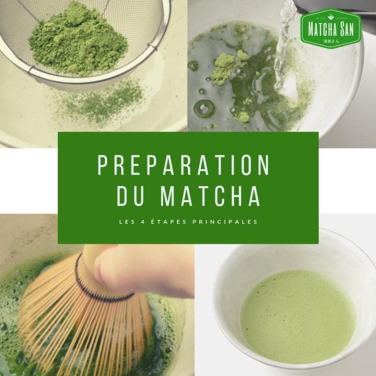 Comment préparer un matcha traditionnel ?
