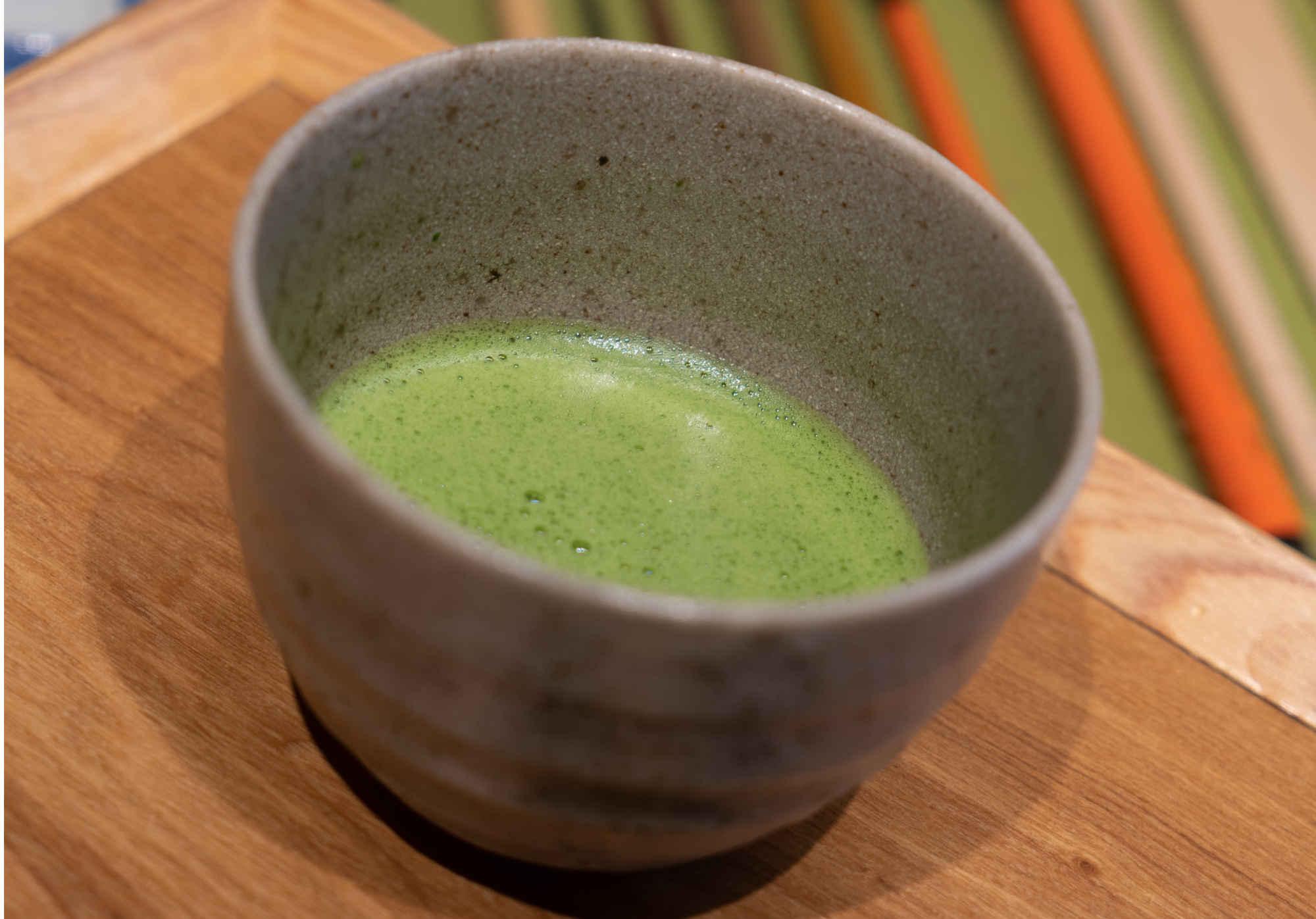 1. Le thé vert matcha japonais