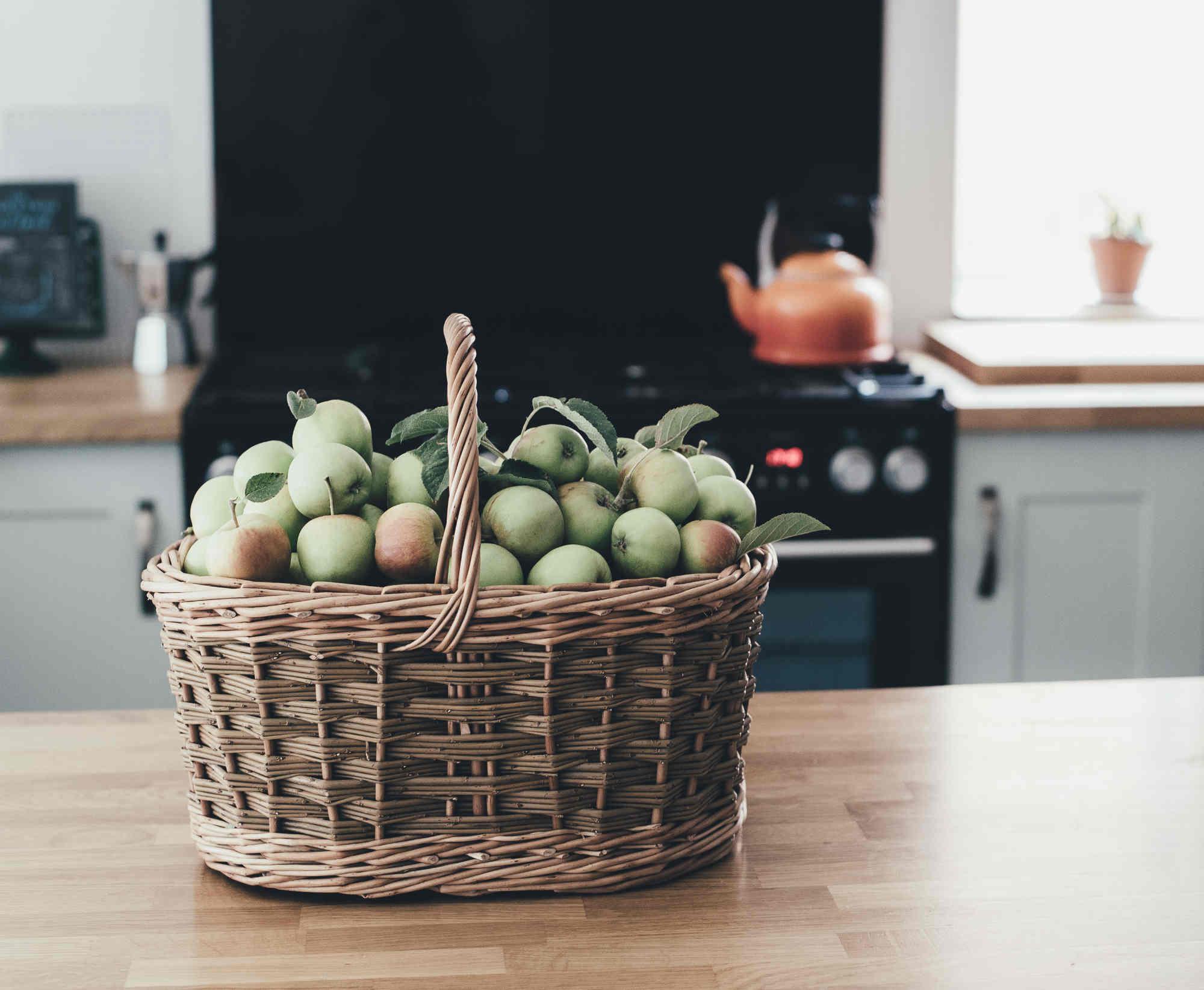Les pommes bio contiennent un nombre plus important de bactéries saines