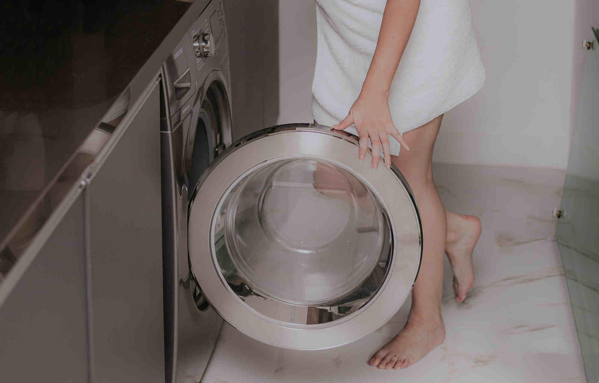 Les hygiénistes conseillent de garder votre machine à laver propre