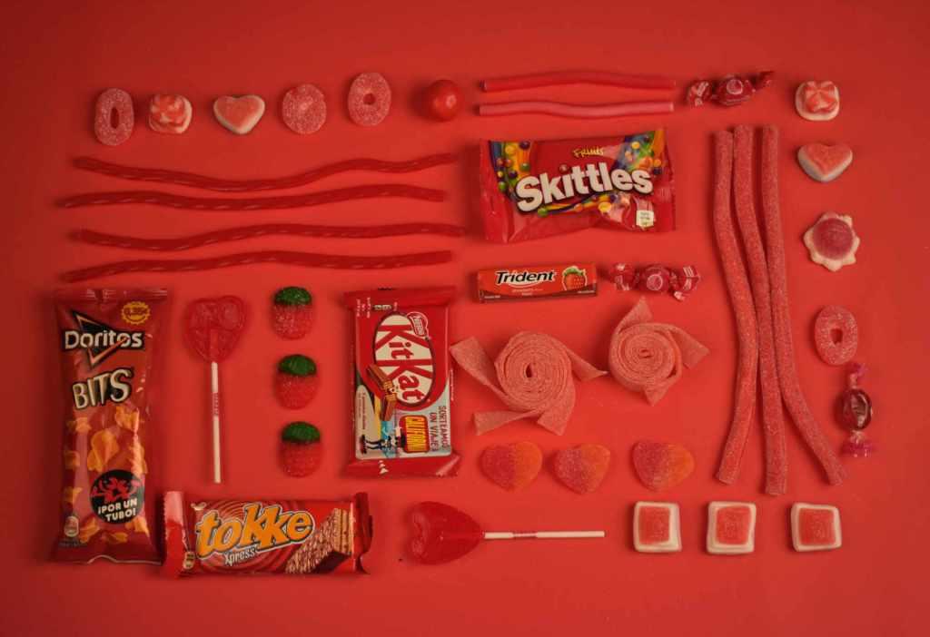 Les bonbons sont parmi les denrées qui contiennent le plus de nanoparticules.